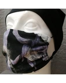 Kasvomaskit Ruusuinen turkoosi/violetti/musta