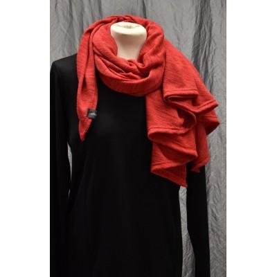 Kolmio-Poncho punainen