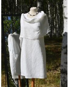 Pellavakeeppi valkoinen