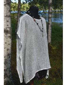 Pellava-Tunika valkoinen